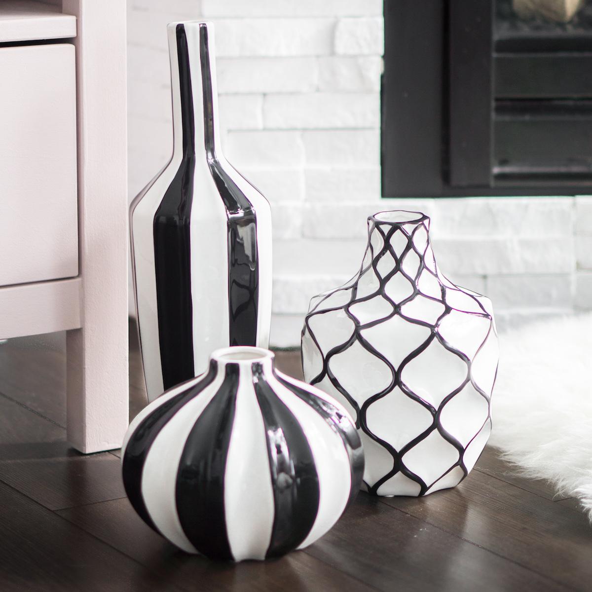 decoration grand vase cylindrique affordable vase cylindrique en verre transparent effet. Black Bedroom Furniture Sets. Home Design Ideas
