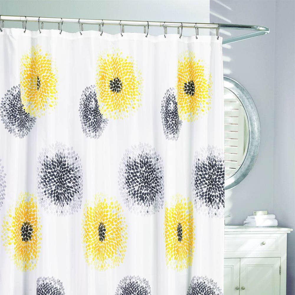 dp shower fabric sheer semi home amazon garden dragonfly maytex kitchen curtain com curtains