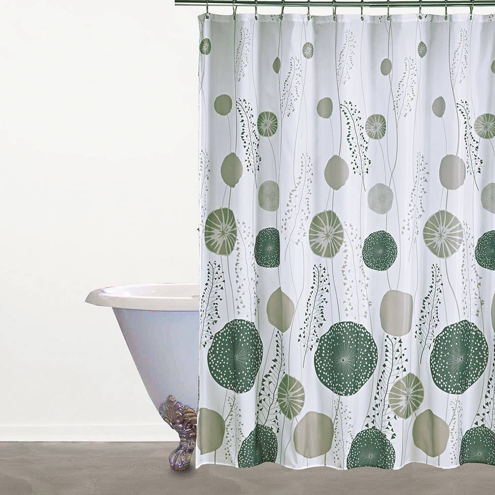 Miley asian inspirations fabric shower curtain summers