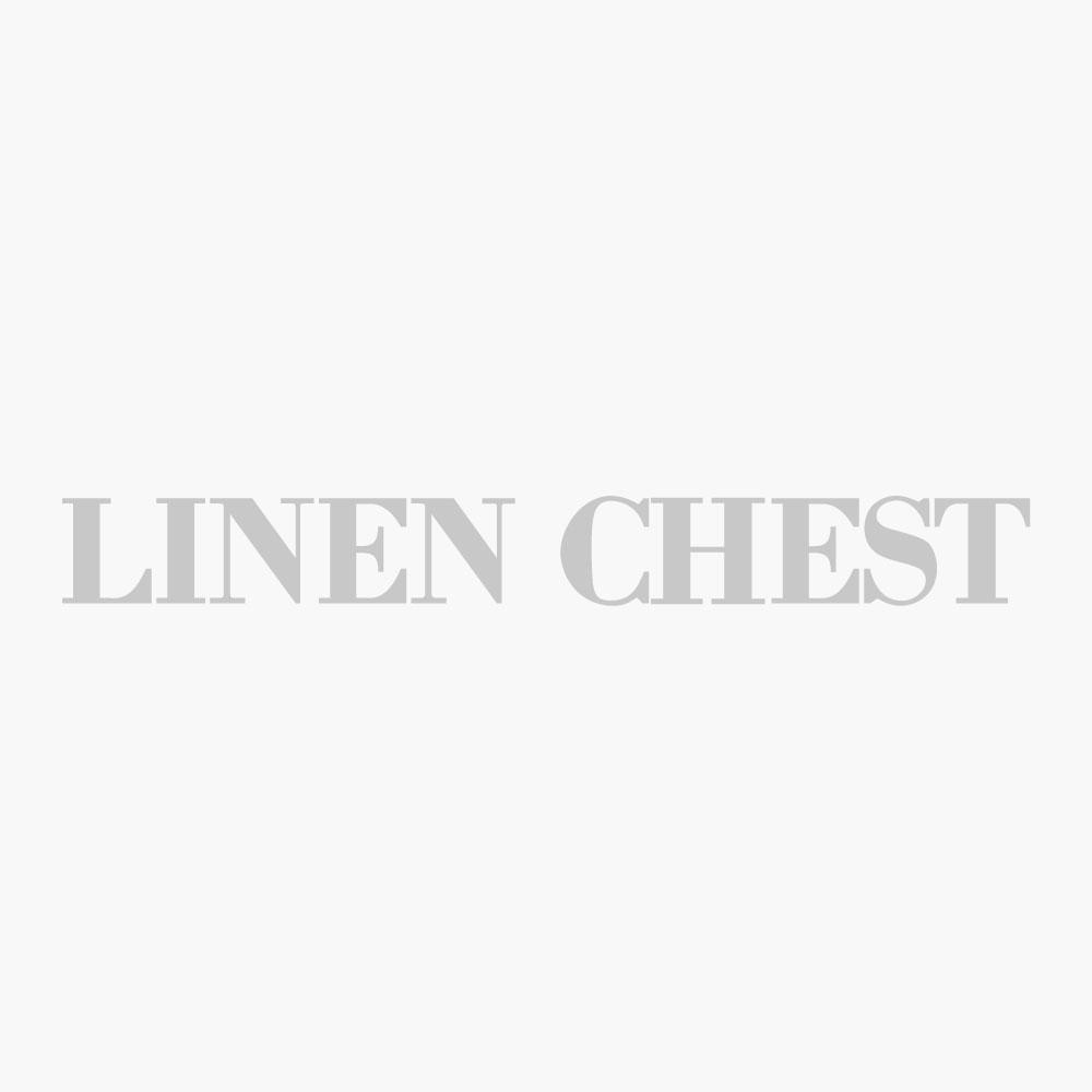 Linen Poinsetta Applique Runner