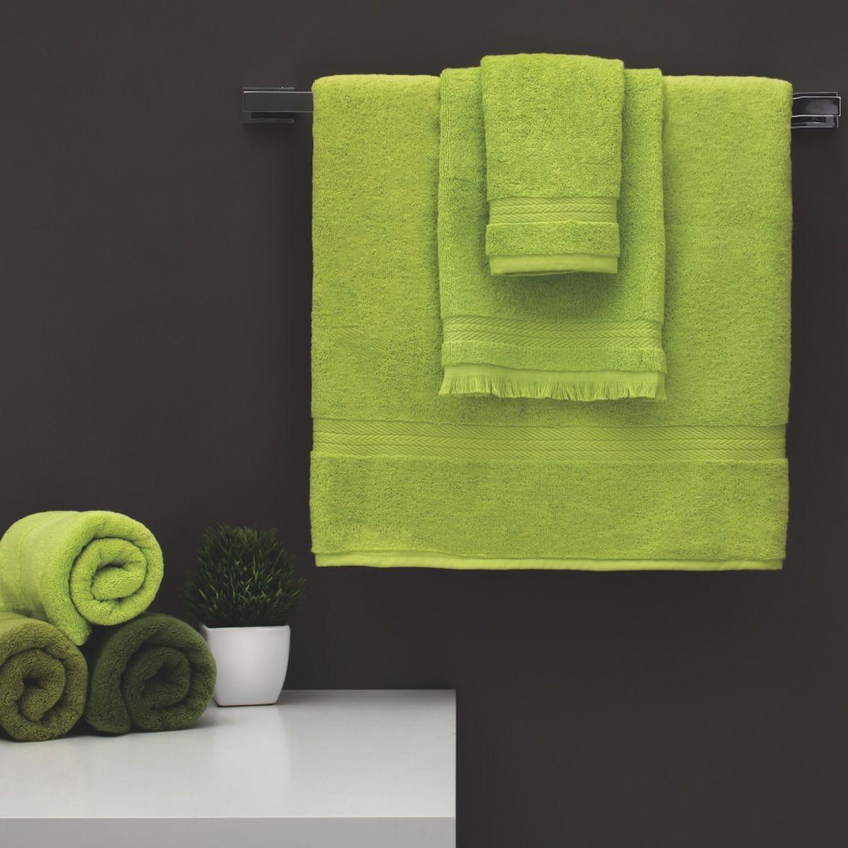 Mnsruu Serviette de Bain Motif Coccinelle Vert 76 x 38 cm