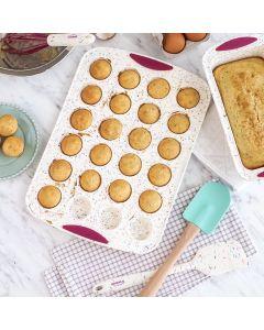 Moule à mini-muffins Trudeau structure silicone « confetti »