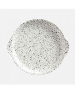 Ensemble de 4 assiettes avec poignées «Speckle» par Maxwell & Williams