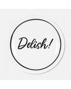 Assiette à hors-d'œuvres «Delish!»