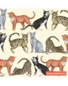 Serviettes de table chats