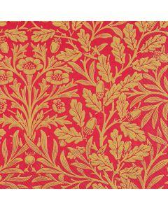 Serviettes de table«Acorn» rouges et or