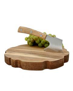 Cheese Board and Chopper