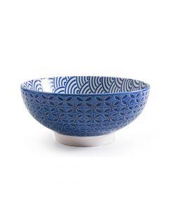 Blue Serving Bowl 18.5cm