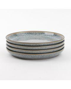 Set of 4 Medium Coupe Plates (21cm)