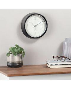 Horloge murale rétro «Désérée» - noire