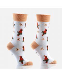 Chaussettes pour femmes « Cardinals »