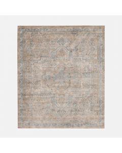 "Hannah Beige/Grey Carpet - 63"" x 79"""