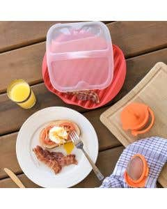 Lékué Bacon and Egg Cooking Set