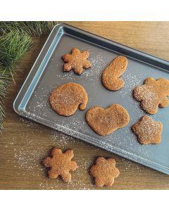Plaque à biscuits antiadhésive 17 x 11po par La Pâtisserie