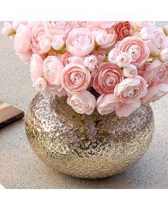Vase«Alma»argenté / rose antique par Torre & Tagus