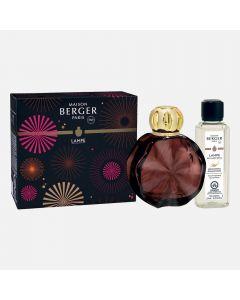 Coffret Lampe Berger « Cercle » prune - Pétillance exquise
