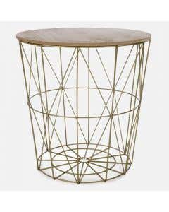 Laverne Accent Table with Storage