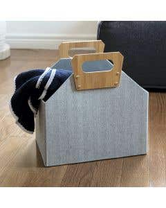 Panier de rangement pliable par Home Essentials