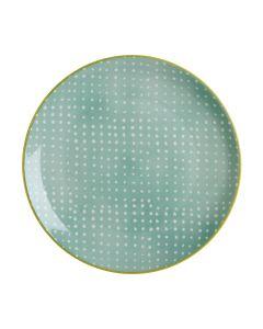 Green Plate 27 cm