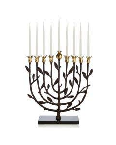 Pomegranate Kosher Menorah by Michael Aram