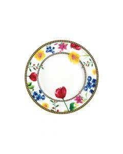 White Plate (19 cm)