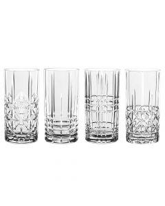 Ensemble de 4 grands verres
