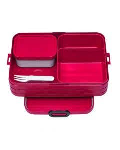 Red Bento Lunch Box