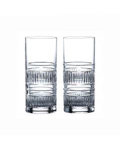 Set of 2 Highball Glasses