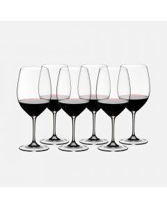 Ensemble de 6 verres à cabernet sauvignon «Vinum»