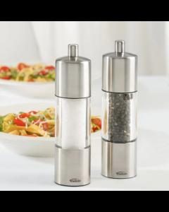 Ensemble moulin à sel et poivre Trudeau «Adagio» en acier inoxydable