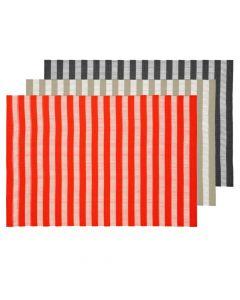 Sheer Stripe Vinyl Placemat