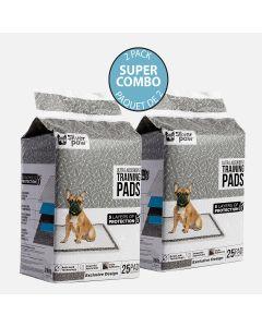 Paquet de 25 tapis d'entraînement pour chiens