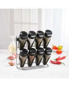 Support à épices 3-en-1 8 bouteilles par Trudeau Maison