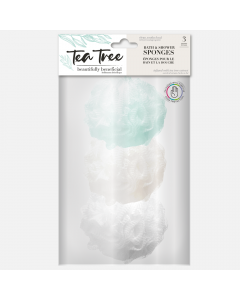 Bath and Shower Sponges by Tea Tree
