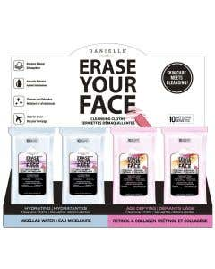 Erase Your Face Travel Makeup Wipes