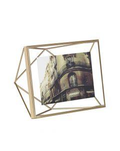 "Picture Frame 4'' x 6"" - Matte Brass"