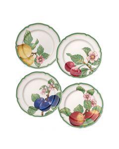 "Set of 4 Dinner Plates (10.25"")"