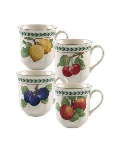 Set of 4 Jumbo Mugs (15 oz)