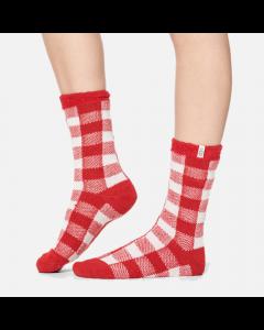 Chaussettes rouges avec doublure molletonnée « Vanna Check »