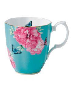 Vintage Mug 13.5ounce-Turquoise