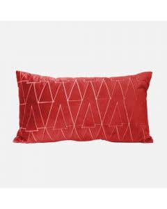 Red Breakfast Cushion 13""