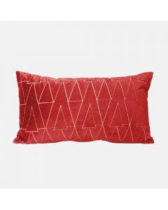 "Red Breakfast Cushion 13"""