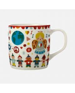 Festive Friends Mug Peace