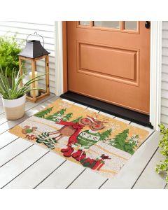 Two Reindeers Doormat