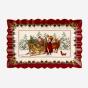 Assiette à gâteau « Toy's Fantasy » - Père Noël avec traîneau (13,75 po)