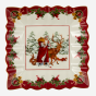 Bol carré « Toy's Fantasy » - Père Noël et animaux (9 po)