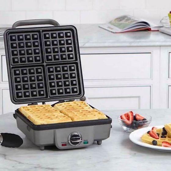 Cuisinart Belgian Waffle Maker with Pancake Plate