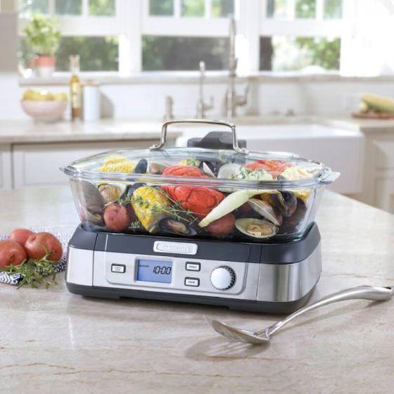 Cuiseur numérique à vapeur «Cookfresh» par Cuisinart