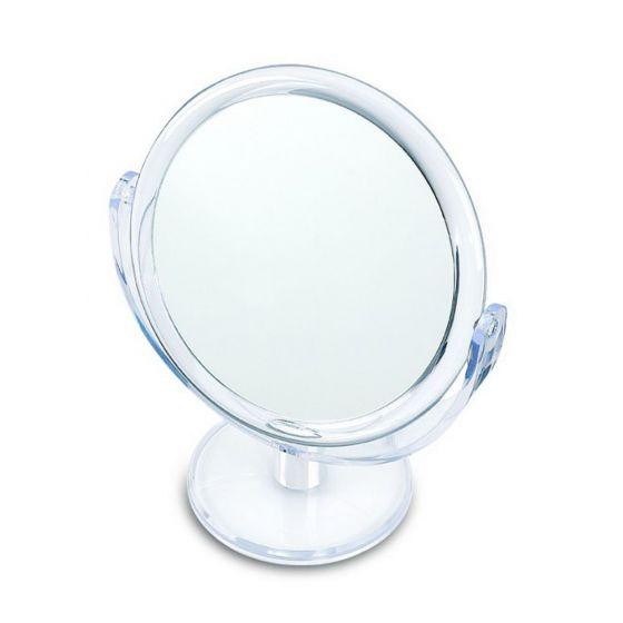 Miroir sur pied pivotant