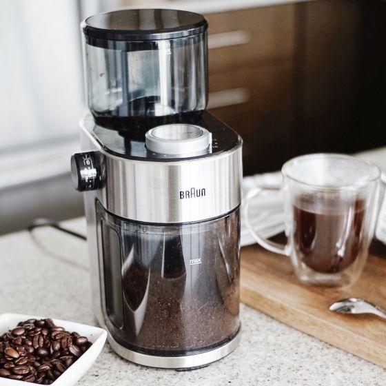 Moulin à café à meule «FreshSet» 12 tasses